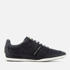 BOSS Green Men's Space Low Top Trainers - Dark Blue