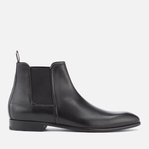 HUGO Men's Dress Appeal Leather Chelsea Boots - Black