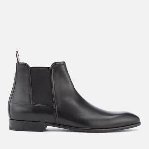 HUGO Men's Dress Appeal Leather Chelsea Boots - Black