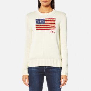 Polo Ralph Lauren Women's Long Sleeve Knit Jumper - Cream