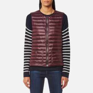 Ralph Lauren Women's Lightweight Gilet with Pockets - Aged Wine
