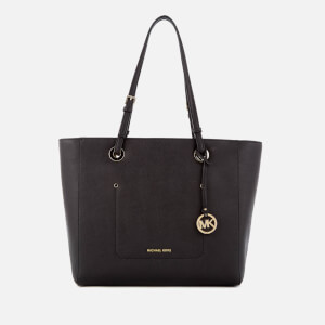 MICHAEL MICHAEL KORS Women's Walsh Large East West Top Zip Tote Bag - Black