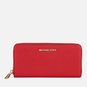MICHAEL MICHAEL KORS Women's Jet Set Continental Purse - Bright Red