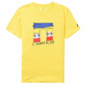 Le Coq Sportif Tour de France N4 Arrival T-Shirt - Yellow