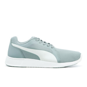 Puma Men's ST Trainer Evo Trainers - Quarry White