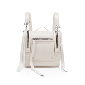 McQ Alexander McQueen Women's Mini Convertible Box Bag - Ivory