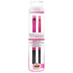 Real Techniques Lip Color + Blur Brush Set