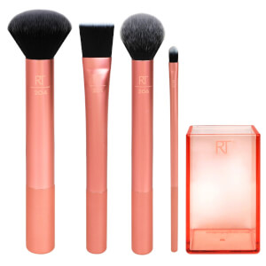 Real Techniques Flawless Base Brush Set pędzle do makijażu (zestaw)