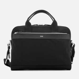 HUGO Men's Digital Light Document Case - Black