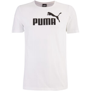 Puma Men's Essential Logo T-Shirt - White