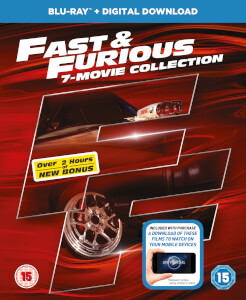 Fast & Furious - 1-7 + Bonus Disc