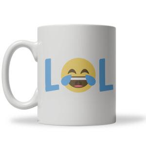 Lol Emoji Tasse