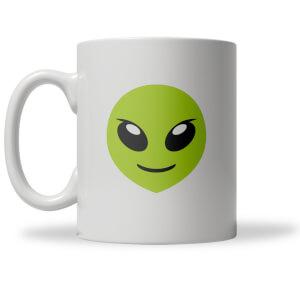 Alien Emoji Tasse