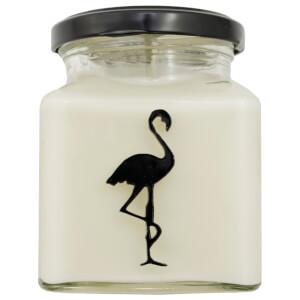 Black Tea and Almond Flamingo Candle