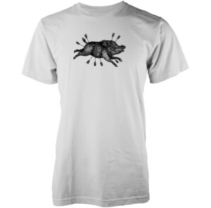 Camiseta Abandon Ship Boar Arrow - Hombre - Blanco