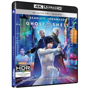 Ghost In The Shell - 4K Ultra HD (Includes Digital Download)