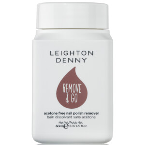 Removedor de Verniz Remove and Go da Leighton Denny - White Grape and Rose 60 ml