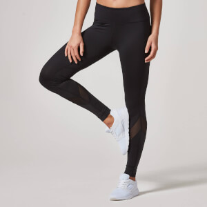 Heartbeat Mesh Full-Length Leggings