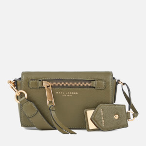 Marc Jacobs Women's Recruit Cross Body Bag - Army Green