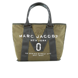 Marc Jacobs Women's New Logo Small Tote Bag - Army Green