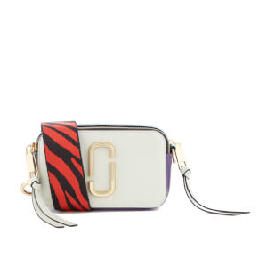 Marc Jacobs Women's Snapshot Cross Body Bag - Dove Multi