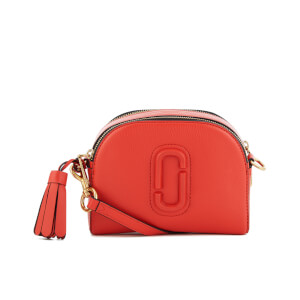 Marc Jacobs Women's Shutter Cross Body Bag - Lava Red