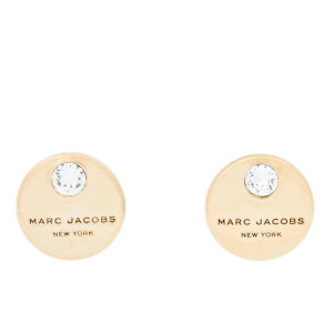 Marc Jacobs Women's MJ Coin Studs - Gold
