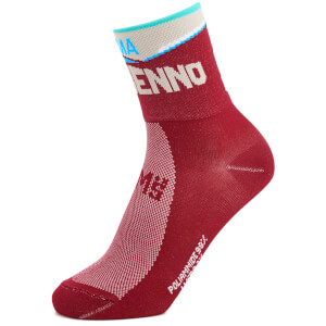 Santini Bergamo Collection Berbenno Socks - Red