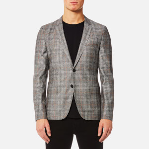 HUGO Men's Anfred Blazer - Medium Brown