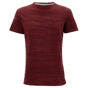 T-Shirt Homme Ferndale Threadbare - Bordeaux