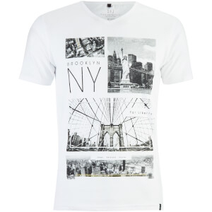 T-Shirt Homme Fibonacci Smith & Jones -Blanc