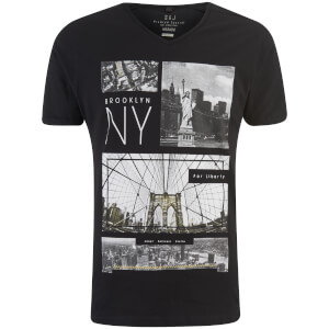 T-Shirt Homme Fibonacci Smith & Jones -Noir