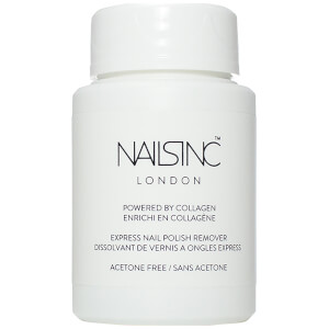 nails inc. Express Nail Polish Remover Pot Powered by Collagen 60 ml