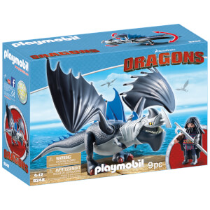 Drago avec dragon de combat - Playmobil Dragons (9248)