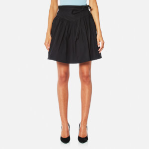 Marc Jacobs Women's Yolk Skirt with Waist Ties - Black