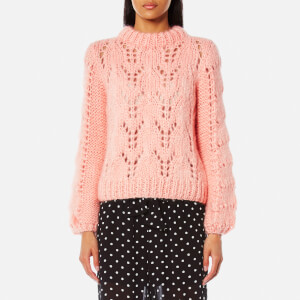 Ganni Women's Faucher Jumper - Cloud Pink
