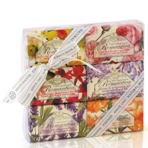 Nesti Dante Romantica Soap Collection Set 6 x 150 g