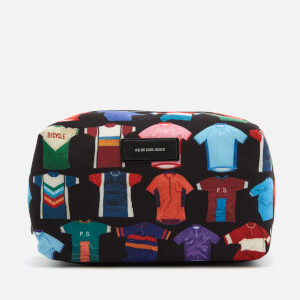Paul Smith Men's Cycle Jersey Print Wash Bag - Black