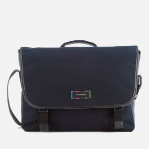 PS by Paul Smith Men's Large Messenger Bag - Navy