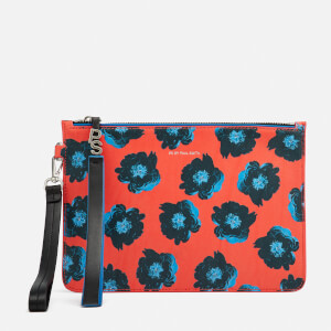 PS by Paul Smith Women's Sea Aster Clutch Bag - Red Multi
