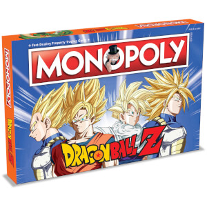 Monopoly Board Game - Dragon Ball Z Edition