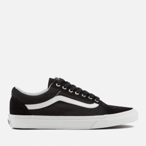 Vans Men's Old Skool Snake Trainers - Black/Blanc