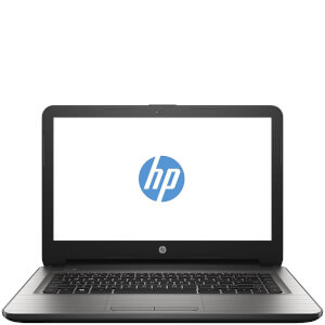 "HP 14-AN008NA 14"""" Laptop (AMD A8 7410, 8GB, 1TB, 2.2GHz, Windows 10) - Silver - Manufacturer Refurbished"