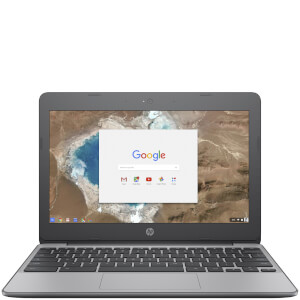 "HP 11-V001NA 11.6"""" Laptop (Intel Celeron N3060, 4GB, 16GB, 1.6GHz Chrome OS) - Grey - Manufacturer Refurbished"