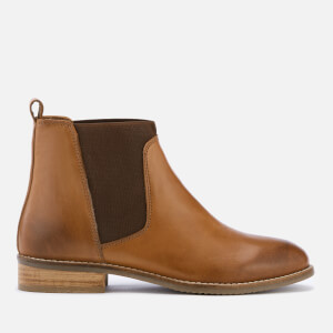 Dune Women's Quote Leather Chelsea Boots - Tan