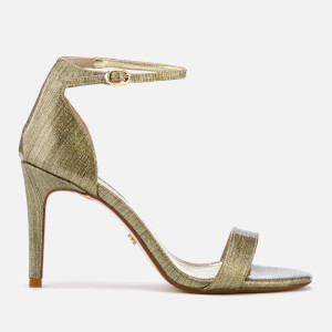 618056fd7849c Dune Women s Mortimer Barely There Heeled Sandals - Gold