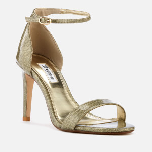 Dune Women's Mortimer Barely There Heeled Sandals - Gold: Image 2
