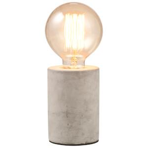 Lampe Tube en Ciment - Gris