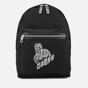 KENZO Men's Essentials Rucksack - Black