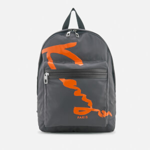 KENZO Men's Essentials Rucksack - Anthracite
